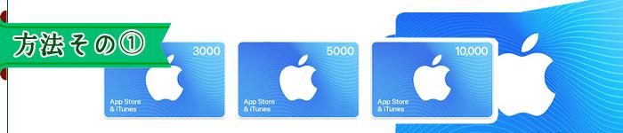 方法その①ドコモオンラインショップでiTunesを購入→買取サイトへ売る